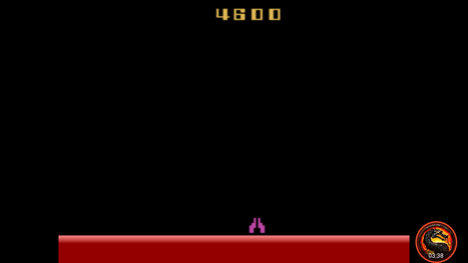 omargeddon: Demon Attack: Game 5 (Atari 2600 Emulated Novice/B Mode) 4,600 points on 2020-06-18 22:17:15