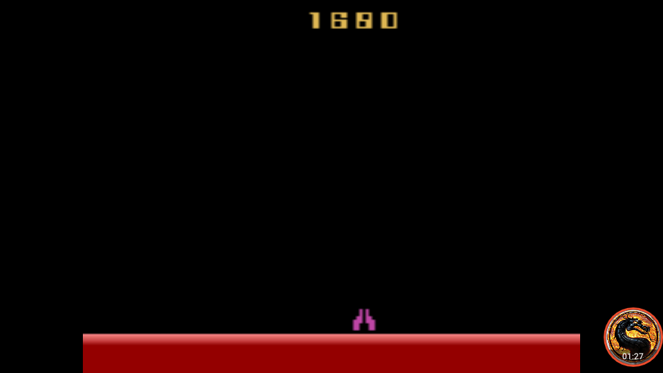 omargeddon: Demon Attack: Game 7 (Atari 2600 Emulated Expert/A Mode) 1,680 points on 2019-03-07 11:41:03