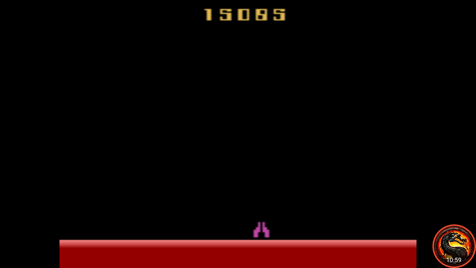 omargeddon: Demon Attack: Game 7 (Atari 2600 Emulated Novice/B Mode) 15,085 points on 2020-09-30 00:11:27