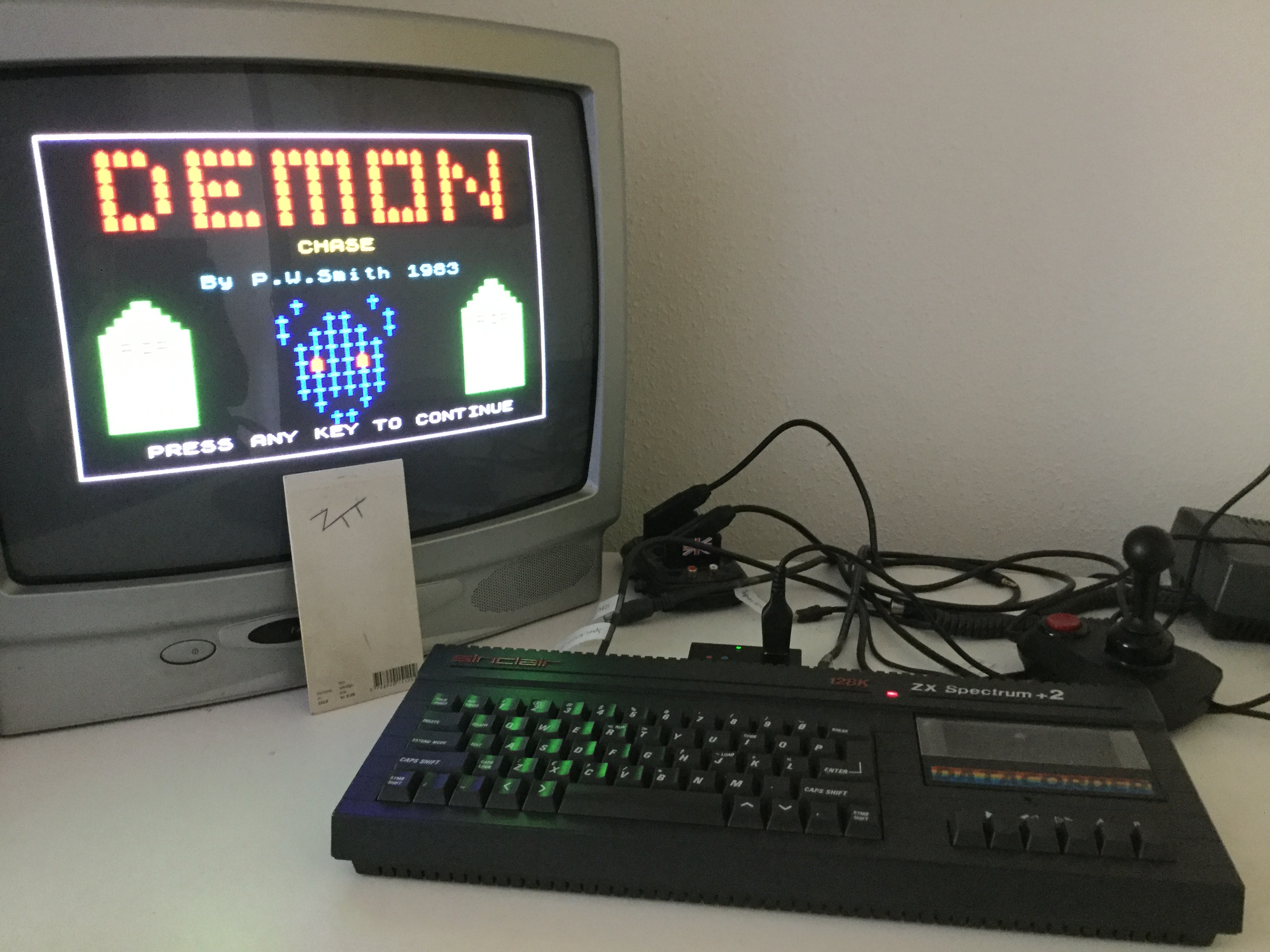 Frankie: Demon Chase (ZX Spectrum) 1,909 points on 2019-06-22 12:23:09