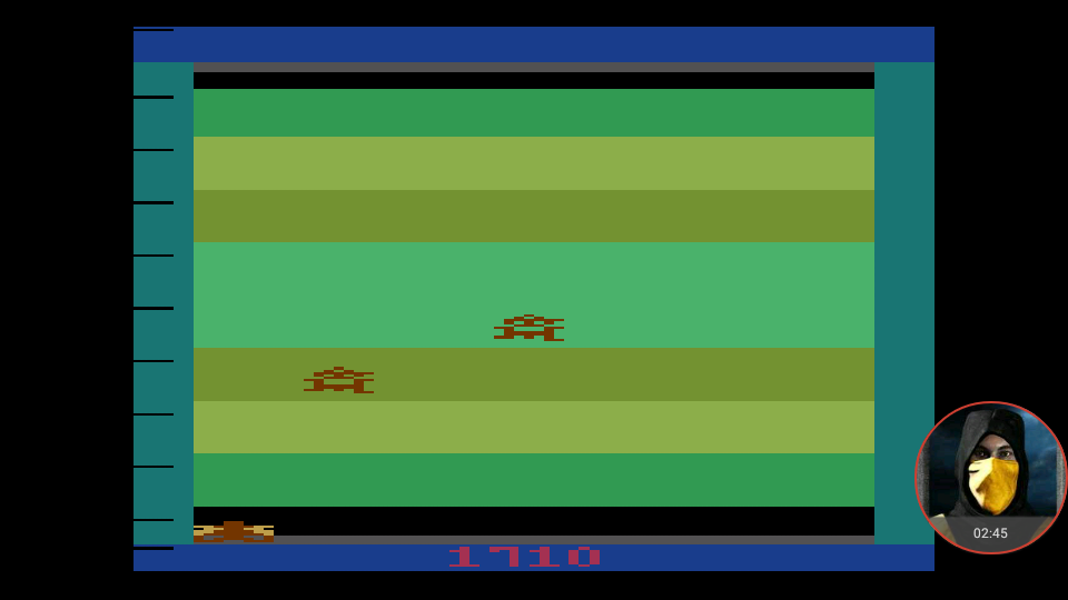 omargeddon: Demons to Diamonds (Atari 2600 Emulated Expert/A Mode) 1,710 points on 2018-02-28 15:59:20