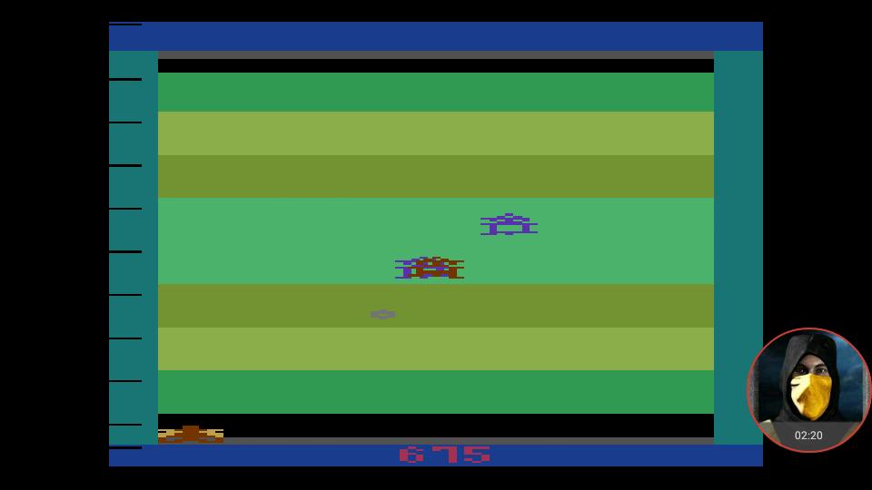 omargeddon: Demons to Diamonds (Atari 2600 Emulated Novice/B Mode) 675 points on 2018-02-28 15:58:08