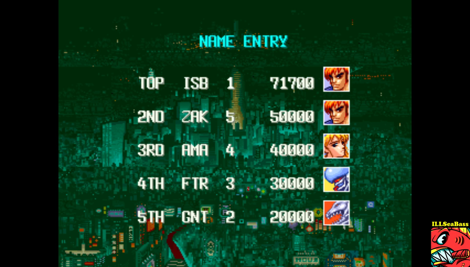 ILLSeaBass: Denjin Makai [denjinmk] (Arcade Emulated / M.A.M.E.) 71,700 points on 2017-09-04 18:15:55