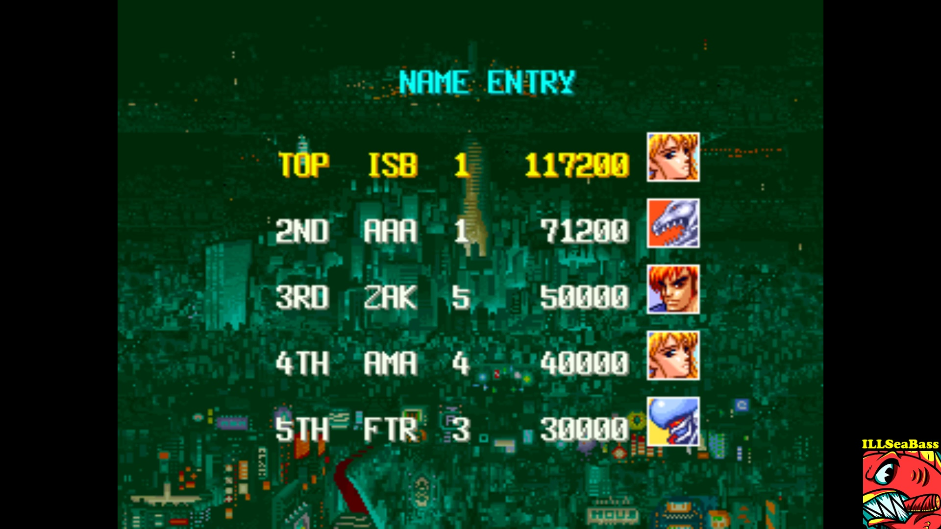 ILLSeaBass: Denjin Makai [denjinmk] (Arcade Emulated / M.A.M.E.) 117,200 points on 2017-10-13 00:15:46