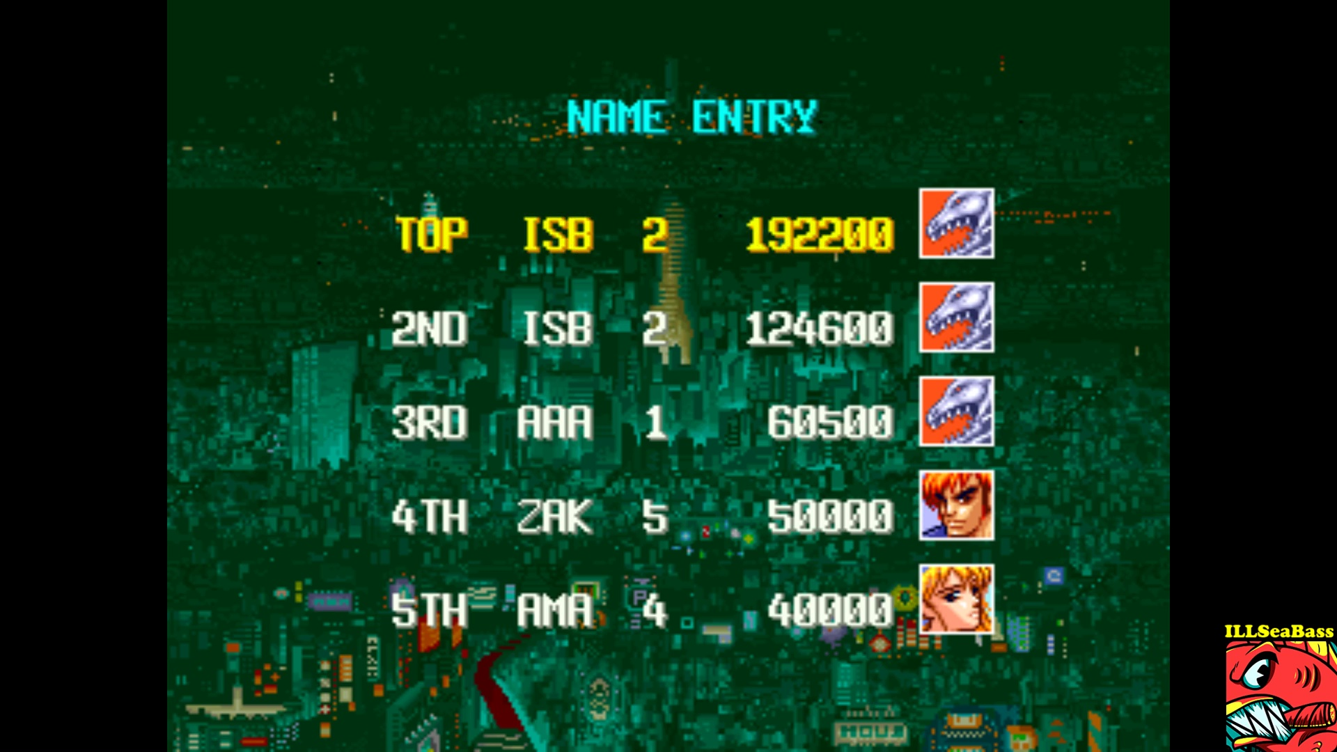 ILLSeaBass: Denjin Makai [denjinmk] (Arcade Emulated / M.A.M.E.) 192,200 points on 2017-11-02 09:02:24