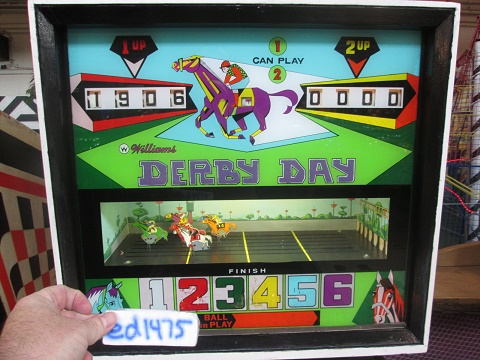 ed1475: Derby Day [Williams] (Pinball: 5 Balls) 1,906 points on 2018-08-12 16:06:18