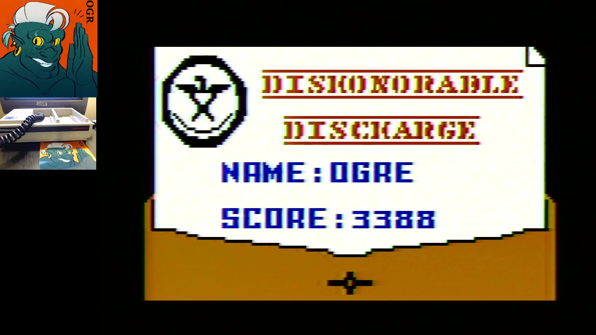 AwesomeOgre: Desert Bus: Deserter Bus (Intellivision) 3,388 points on 2020-02-10 21:11:08