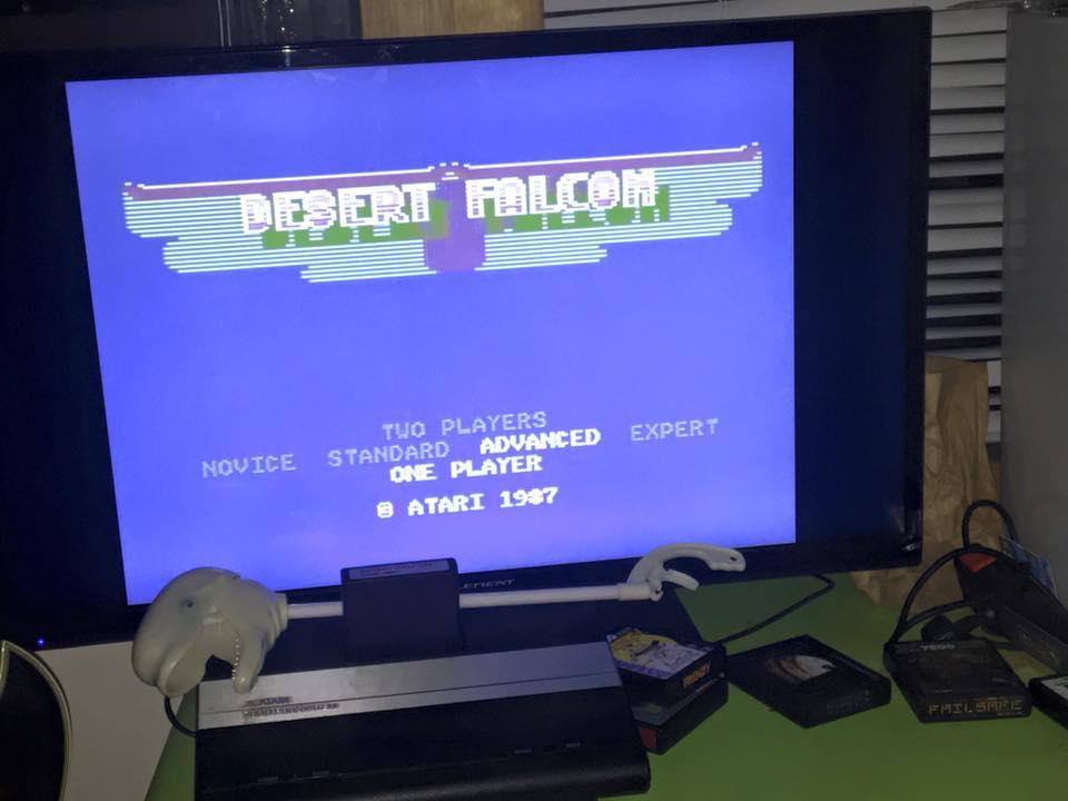 CousinVinnie: Desert Falcon: Advanced (Atari 7800) 118,758 points on 2017-11-22 05:50:10