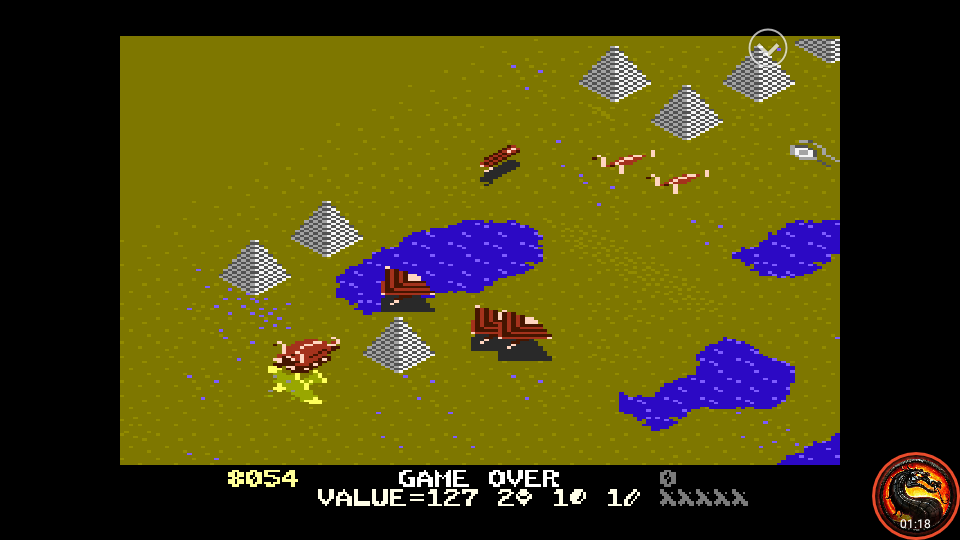 omargeddon: Desert Falcon: Expert (Atari 7800 Emulated) 8,054 points on 2020-09-14 01:55:32