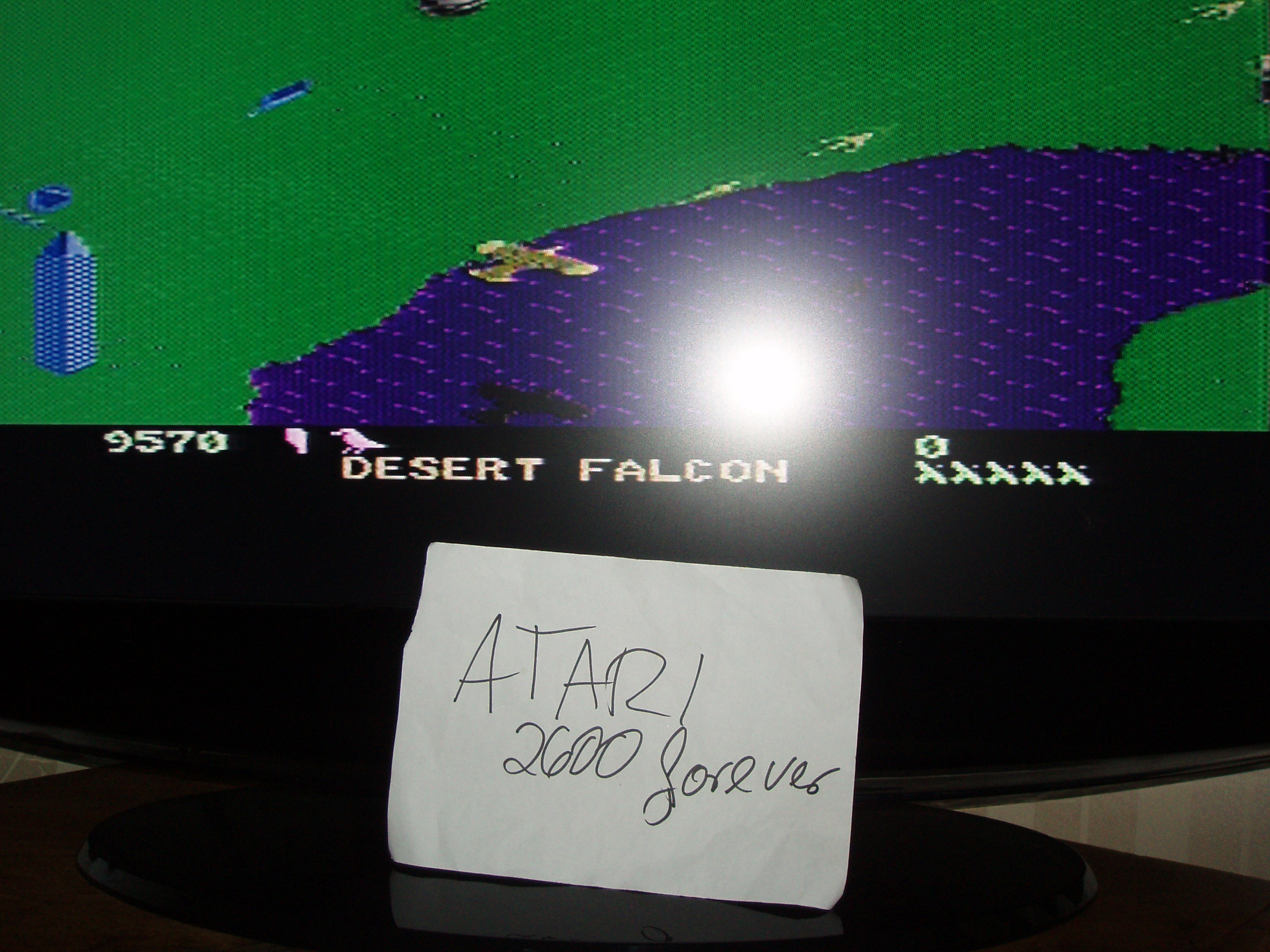 atari2600forever: Desert Falcon: Novice (Atari 7800) 9,570 points on 2018-09-10 03:27:59