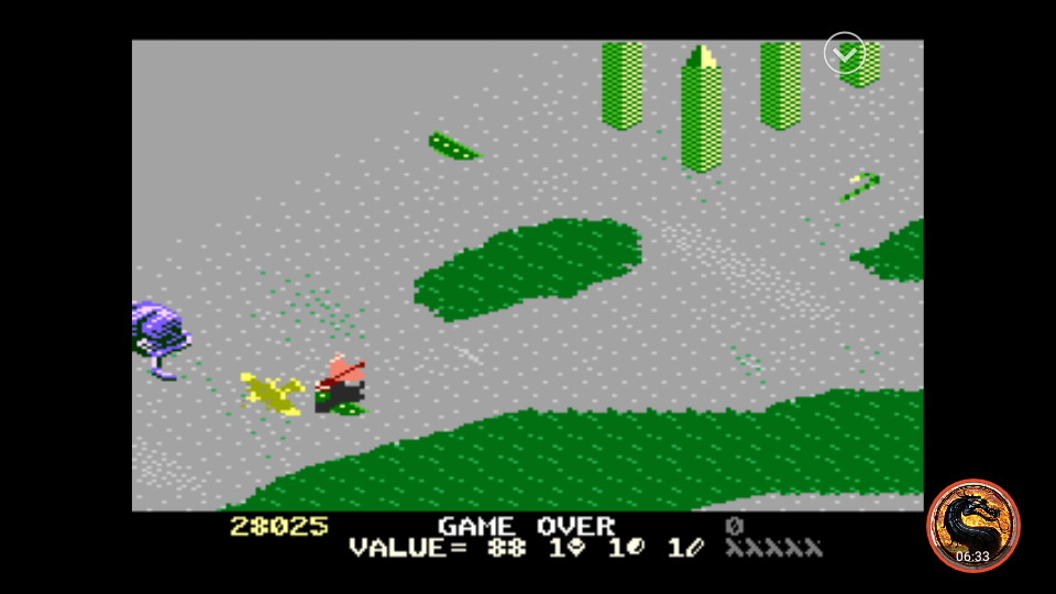 omargeddon: Desert Falcon: Novice (Atari 7800 Emulated) 28,025 points on 2019-11-01 00:34:28