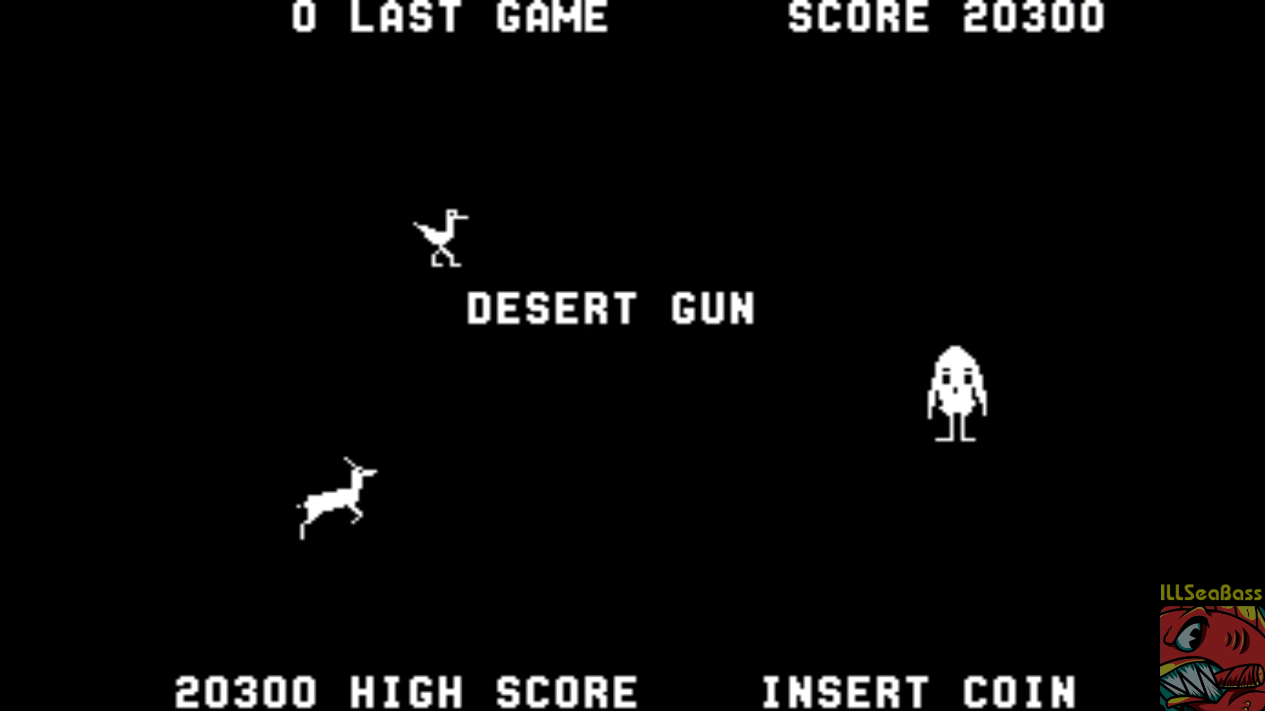 ILLSeaBass: Desert Gun [desertgu] (Arcade Emulated / M.A.M.E.) 20,300 points on 2018-08-05 14:25:16