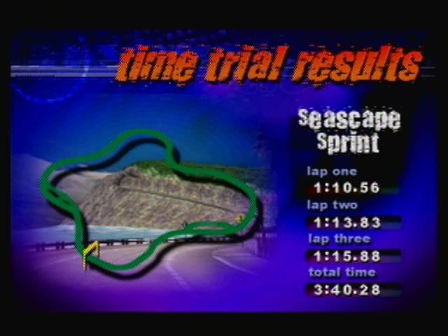 derek: Destruction Derby 64: Time Trial [Seascape Sprint / Fastest Lap] (N64) 0:01:10.56 points on 2016-04-19 13:24:31