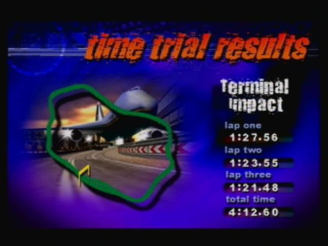 derek: Destruction Derby 64: Time Trial [Terminal Impact / Fastest Lap] (N64) 0:01:21.48 points on 2016-04-19 13:28:13