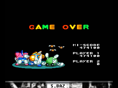 S.BAZ: Detana!! TwinBee [Rank Hard] (TurboGrafx-16/PC Engine Emulated) 474,100 points on 2016-07-17 04:12:16