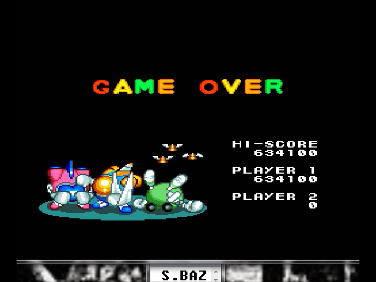 S.BAZ: Detana!! TwinBee [Rank Normal] (TurboGrafx-16/PC Engine Emulated) 634,100 points on 2016-07-15 02:33:44