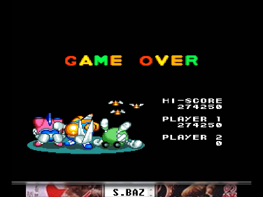 S.BAZ: Detana!! TwinBee [Rank Pro] (TurboGrafx-16/PC Engine Emulated) 274,250 points on 2016-07-17 00:48:43