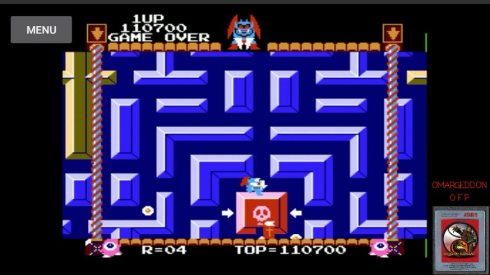 omargeddon: Devil World (NES/Famicom Emulated) 110,700 points on 2017-03-10 23:35:23
