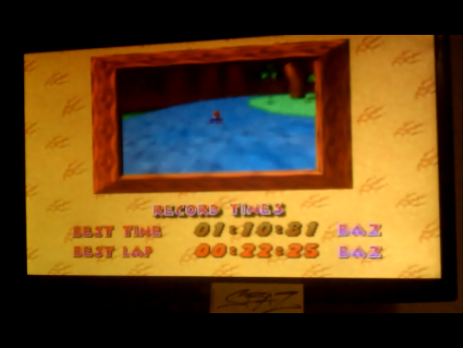 S.BAZ: Diddy Kong Racing: Tracks [Ancient Lake/ Fastest Lap] (N64) 0:00:22.25 points on 2016-06-12 16:38:09