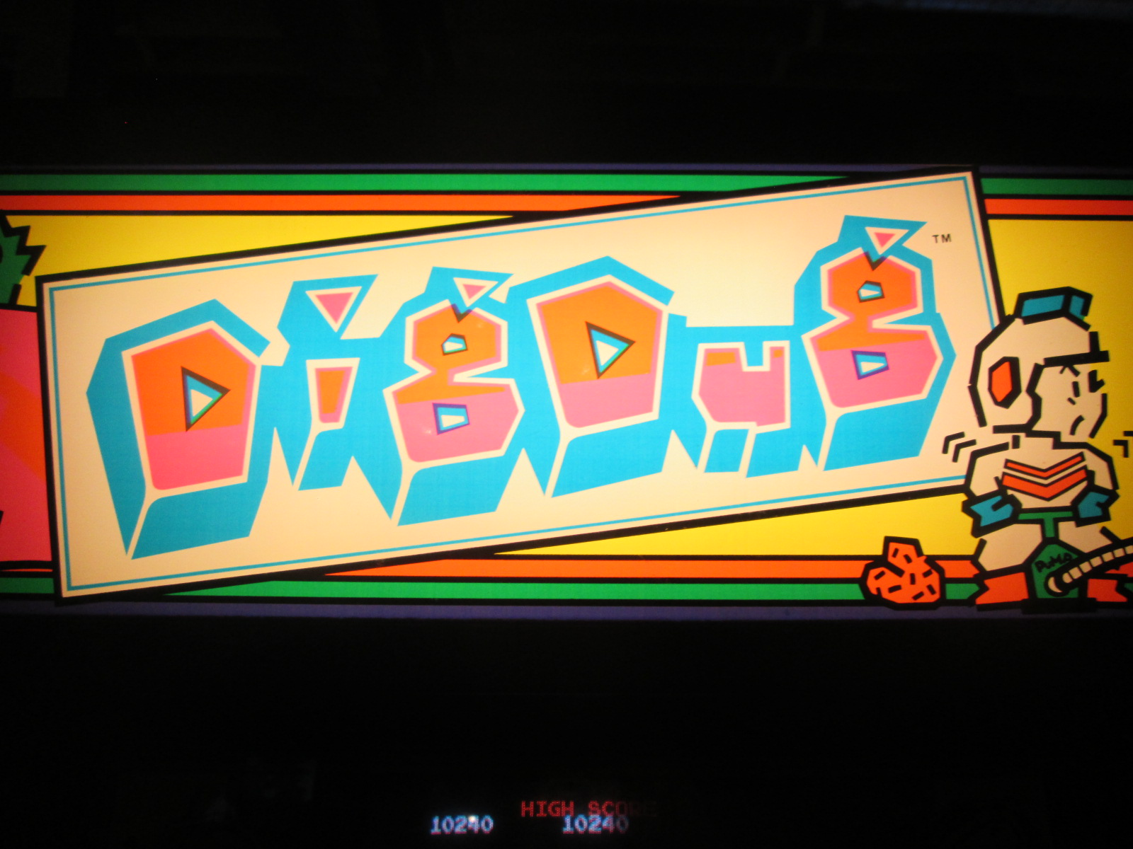 ed1475: Dig Dug (Arcade) 10,240 points on 2016-08-28 16:12:21