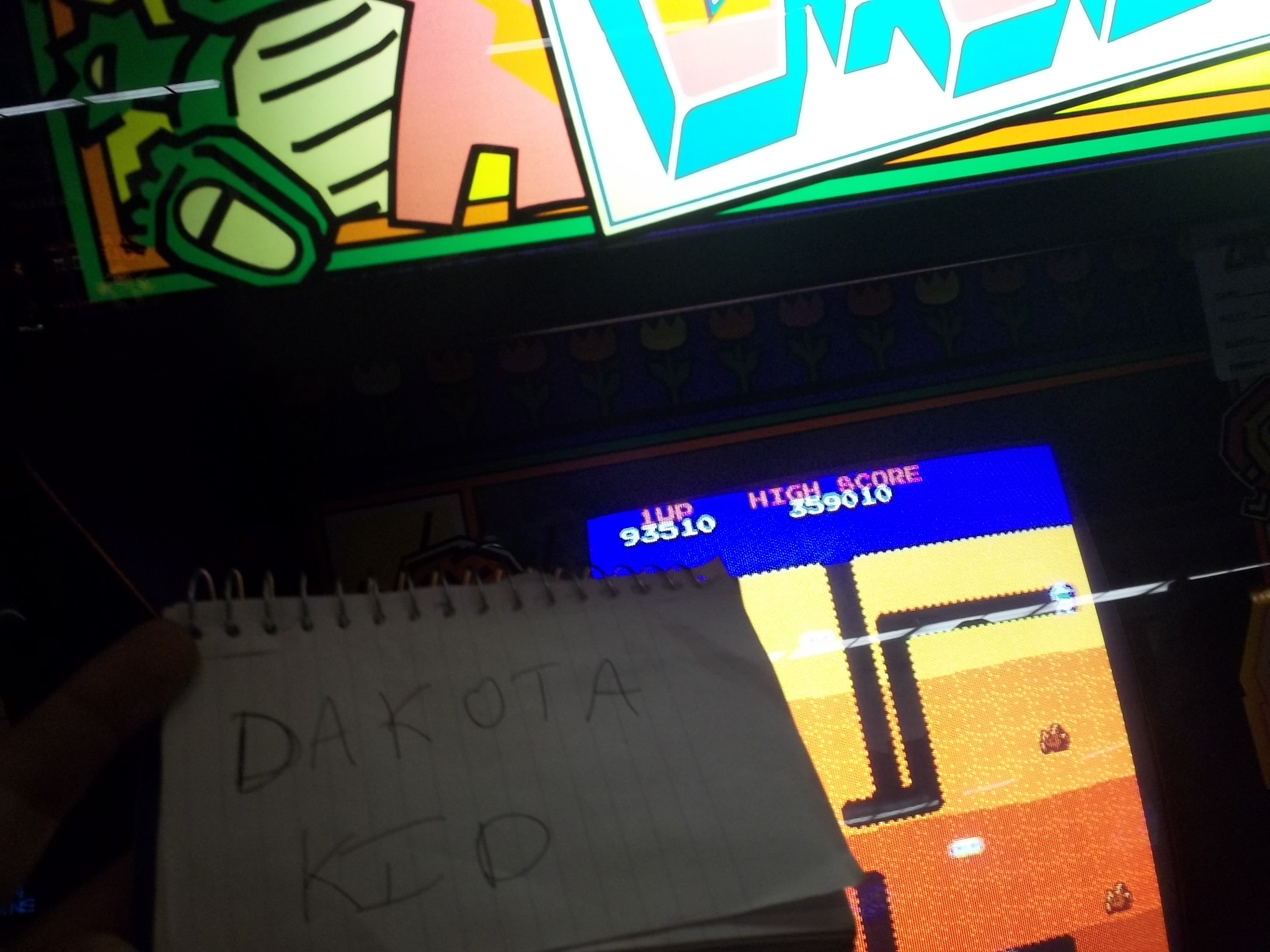 DakotaKid: Dig Dug (Arcade) 93,510 points on 2017-05-04 15:46:23