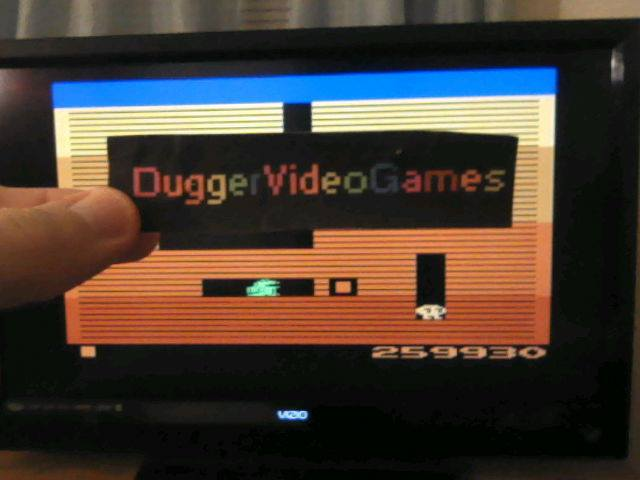 DuggerVideoGames: Dig Dug (Atari 2600 Emulated) 259,930 points on 2017-12-16 19:35:02