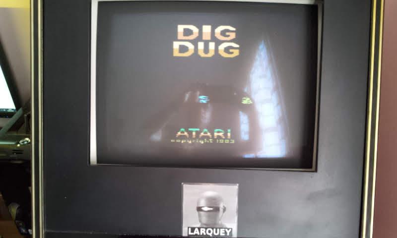 Larquey: Dig Dug (Atari 2600 Emulated) 105,080 points on 2018-06-10 13:45:09