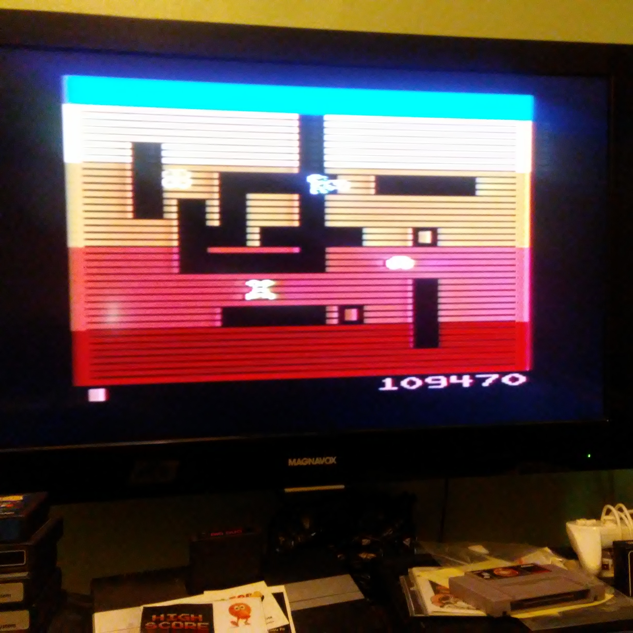 Pjsteele: Dig Dug (Atari 2600) 109,470 points on 2018-07-22 11:30:10