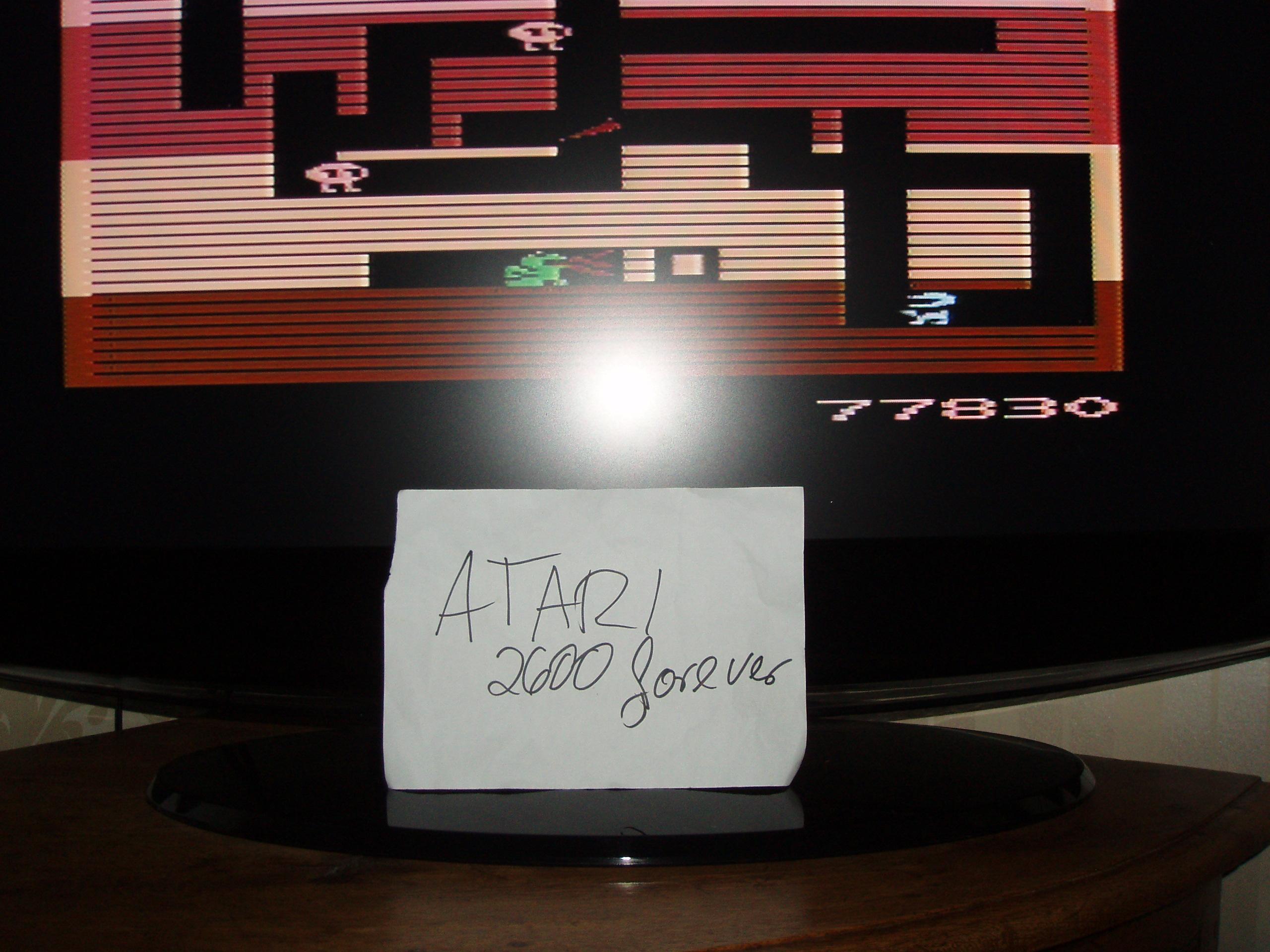 atari2600forever: Dig Dug (Atari 2600) 77,830 points on 2018-12-18 03:11:12