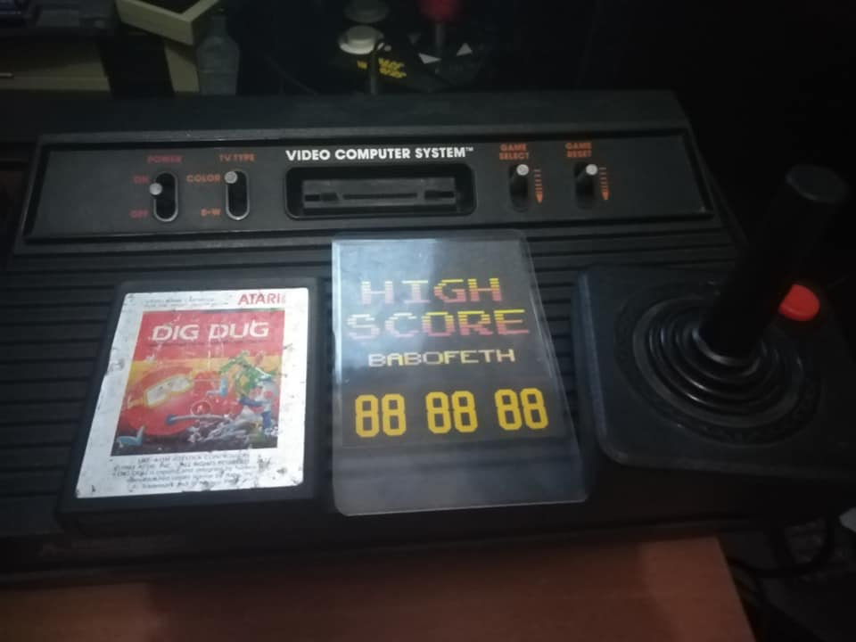 Dig Dug 380,890 points