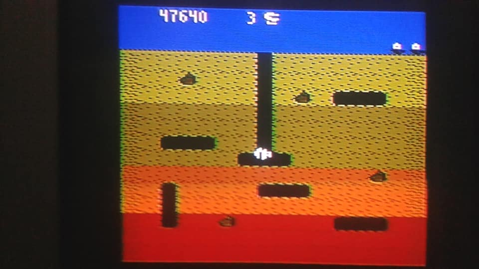 BabofetH: Dig Dug (Atari 400/800/XL/XE) 47,640 points on 2020-06-12 23:21:30