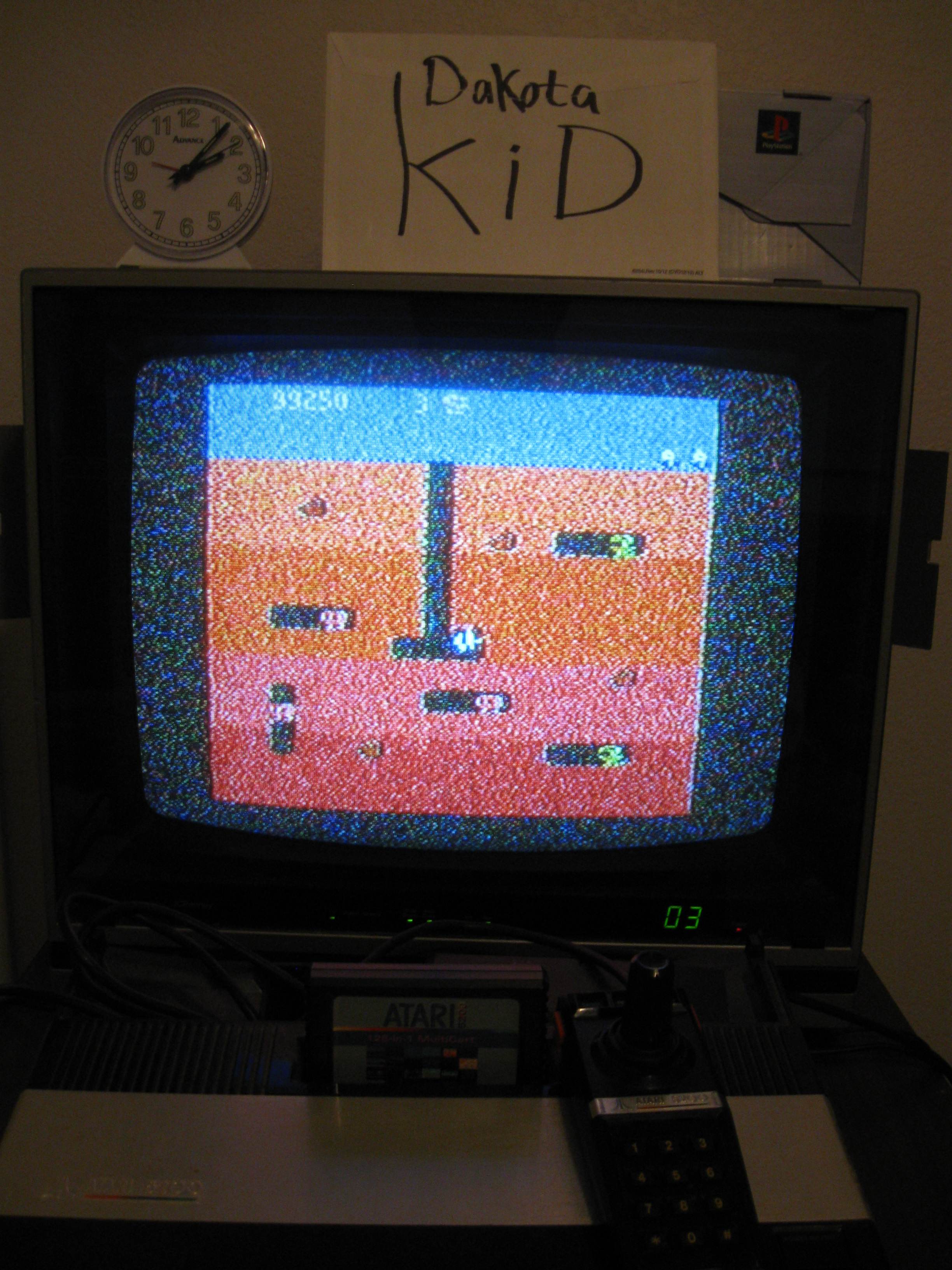 DakotaKid: Dig Dug: Carrot Start (Atari 5200) 99,250 points on 2016-04-13 19:22:43