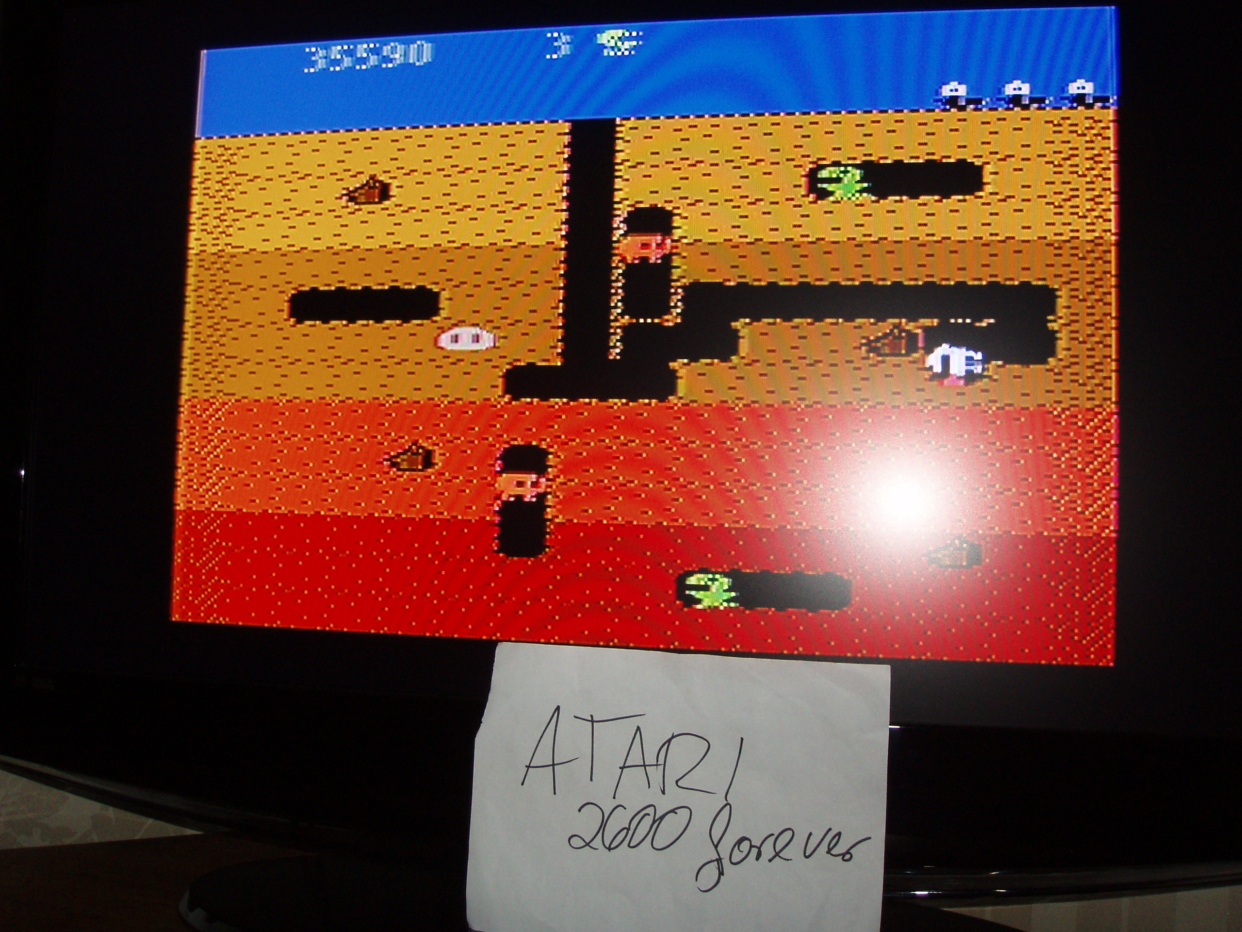 atari2600forever: Dig Dug: Carrot Start (Atari 5200) 35,590 points on 2018-02-01 03:39:07