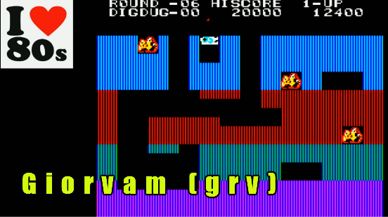 Giorvam: Dig Dug (Casio PV-1000 Emulated) 12,400 points on 2018-01-06 10:30:58