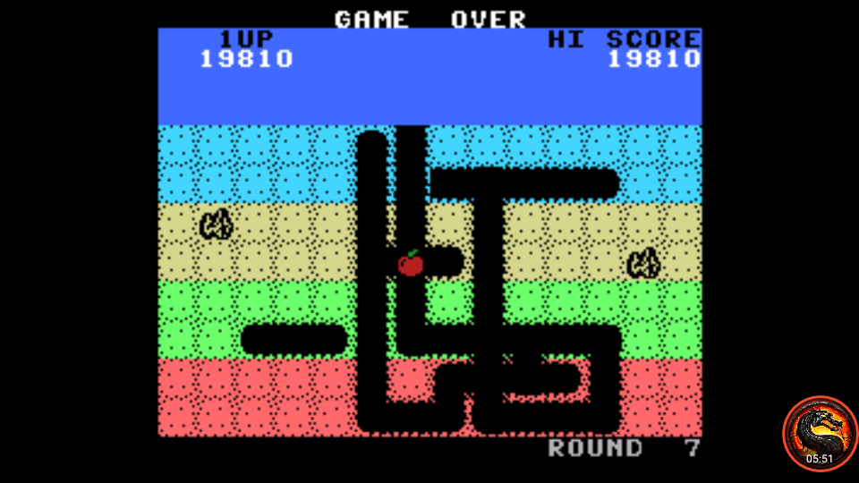 omargeddon: Dig Dug (Colecovision Emulated) 19,810 points on 2020-07-30 21:32:25
