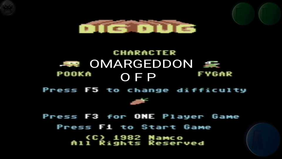 omargeddon: Dig Dug (Commodore 64 Emulated) 12,200 points on 2016-10-16 23:19:23