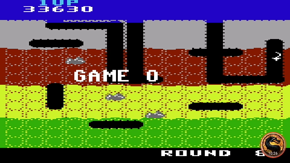 omargeddon: Dig Dug (Commodore 64 Emulated) 33,630 points on 2019-08-24 23:32:28