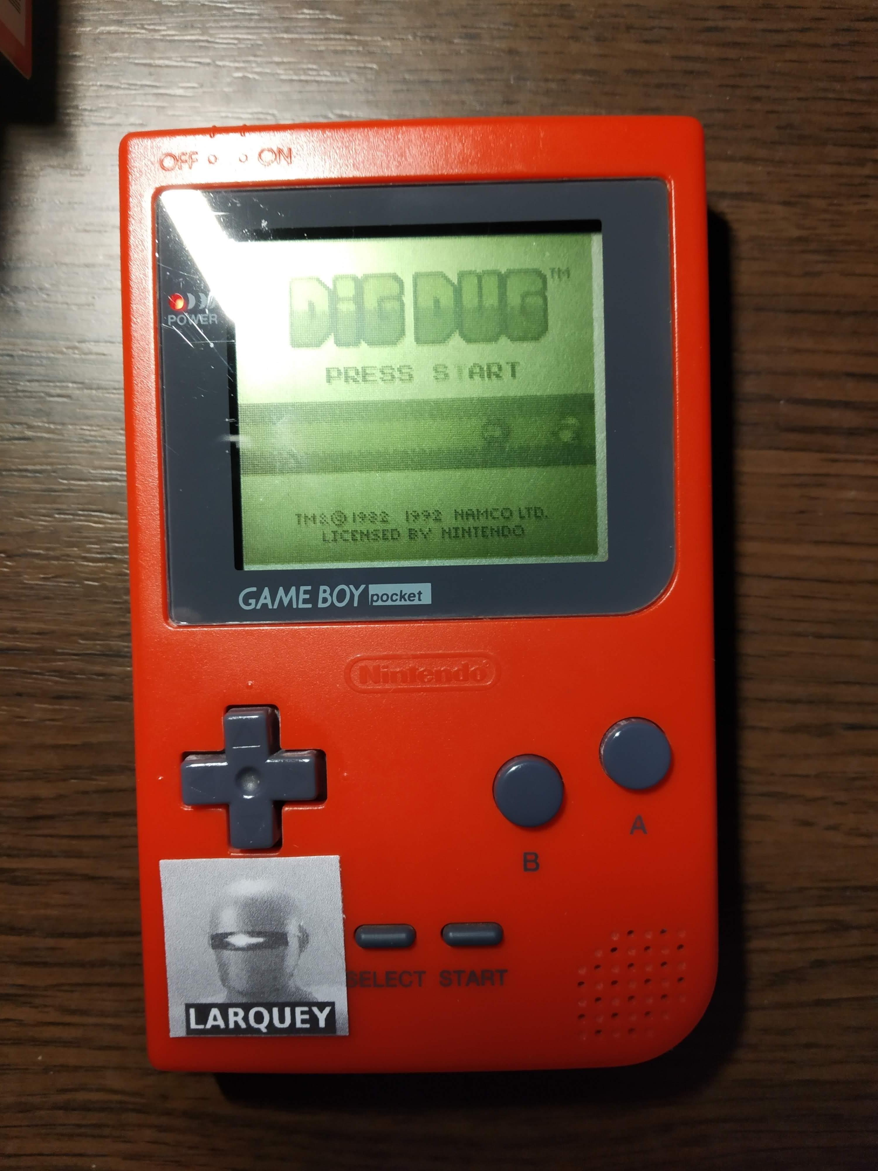 Larquey: Dig Dug (Game Boy) 84,600 points on 2019-12-14 12:49:02