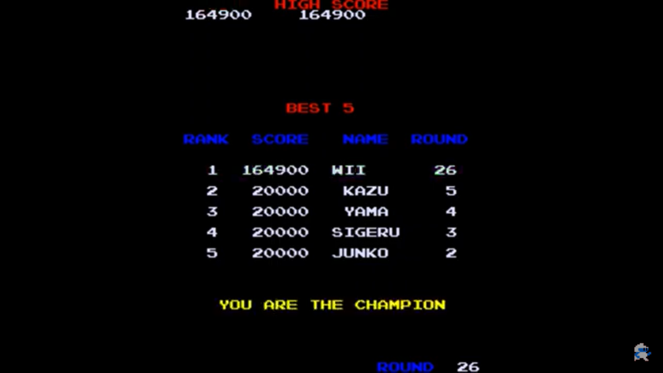 NamcoPlayer: Dig Dug II (Arcade Emulated / M.A.M.E.) 164,900 points on 2020-07-27 17:09:57