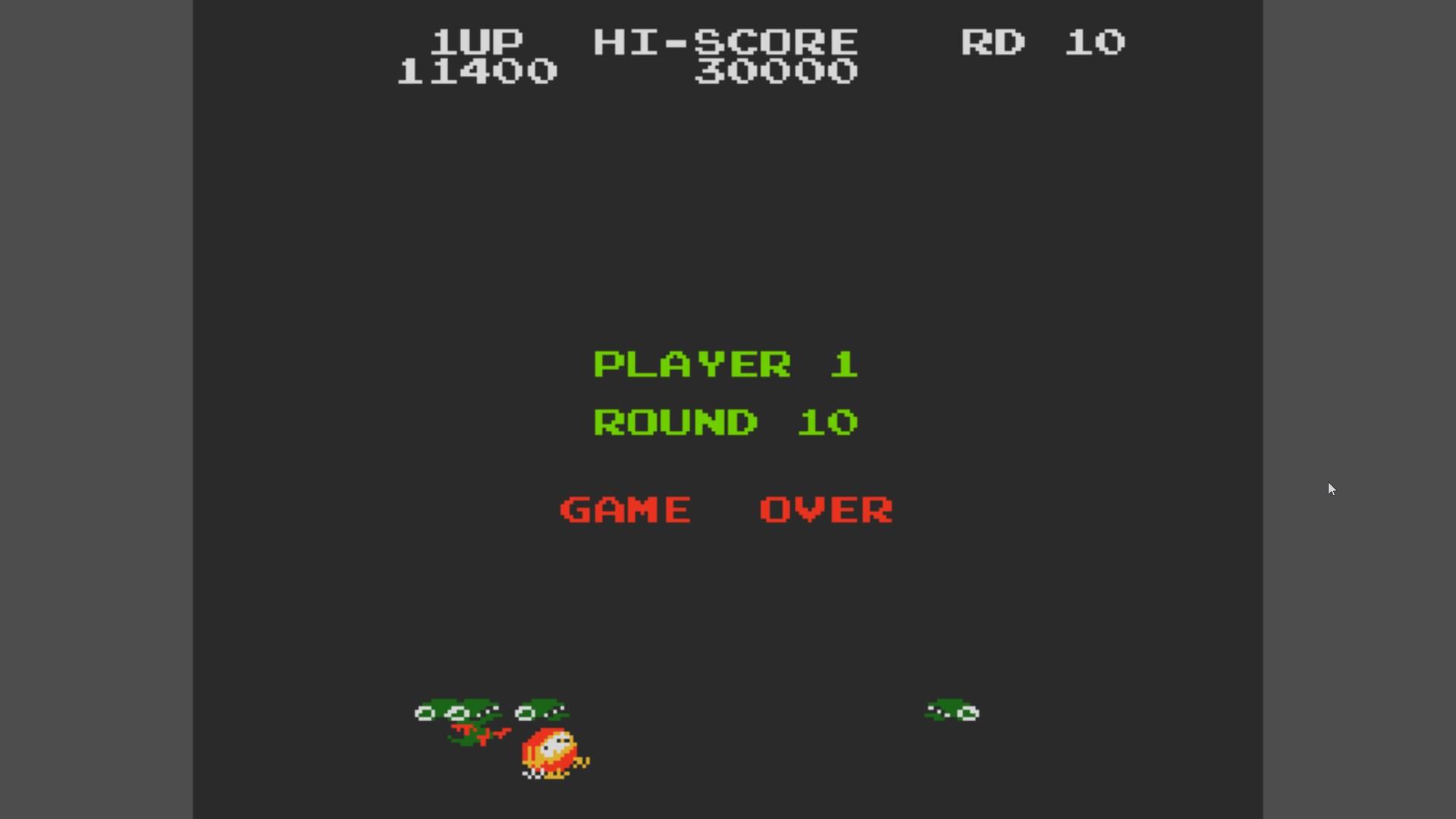 AkinNahtanoj: Dig Dug II (NES/Famicom Emulated) 11,400 points on 2020-10-23 11:27:05