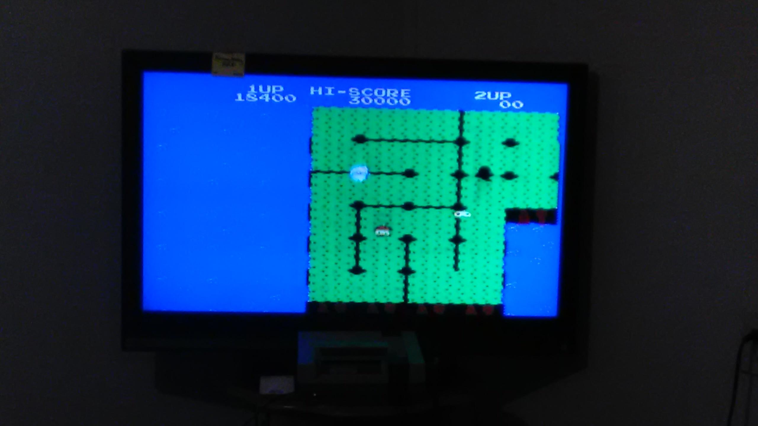 kennyfraley: Dig Dug II (NES/Famicom) 18,400 points on 2016-11-07 22:34:16