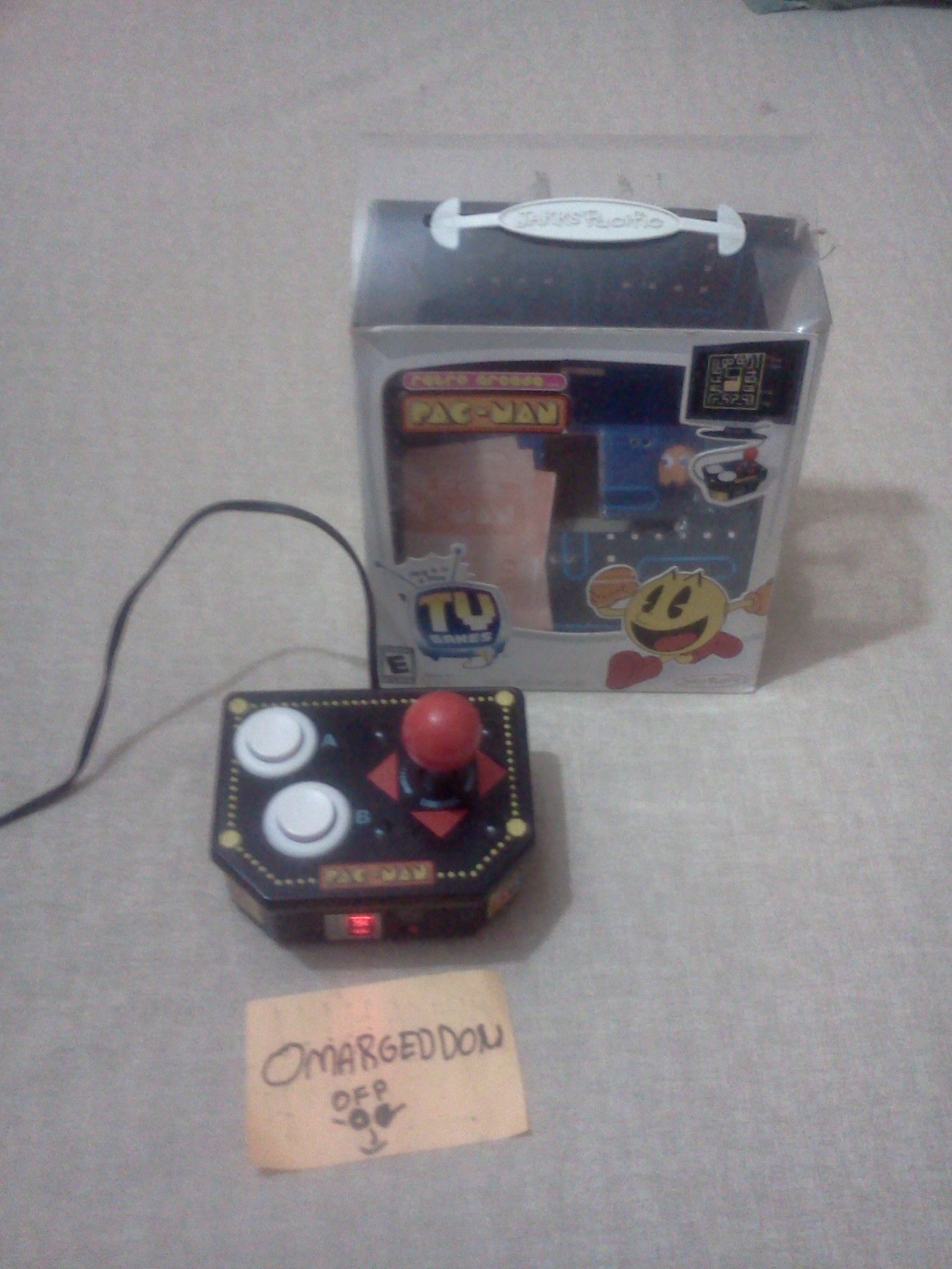 omargeddon: Dig Dug (Jakks Pacific Retro Arcade Pac-Man) 46,700 points on 2016-07-24 00:07:10