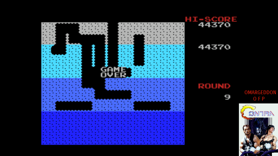 omargeddon: Dig Dug (MSX Emulated) 44,370 points on 2017-07-26 23:26:19