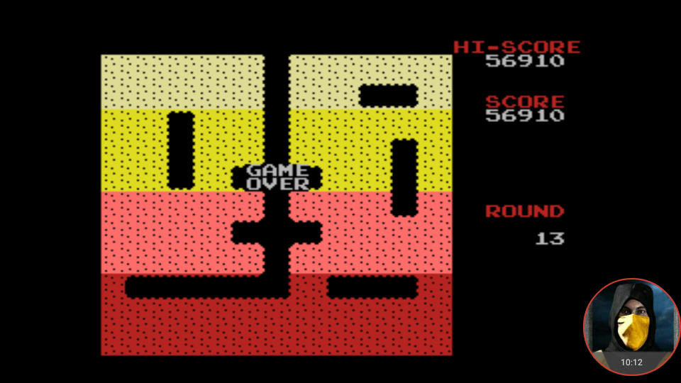omargeddon: Dig Dug (MSX Emulated) 56,910 points on 2018-03-24 12:31:47