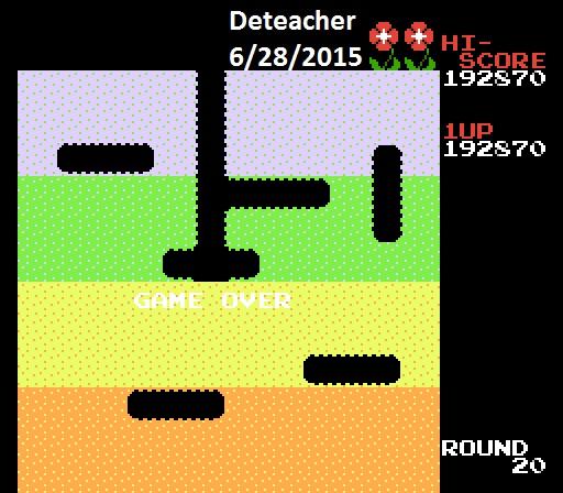 Dig Dug 192,870 points