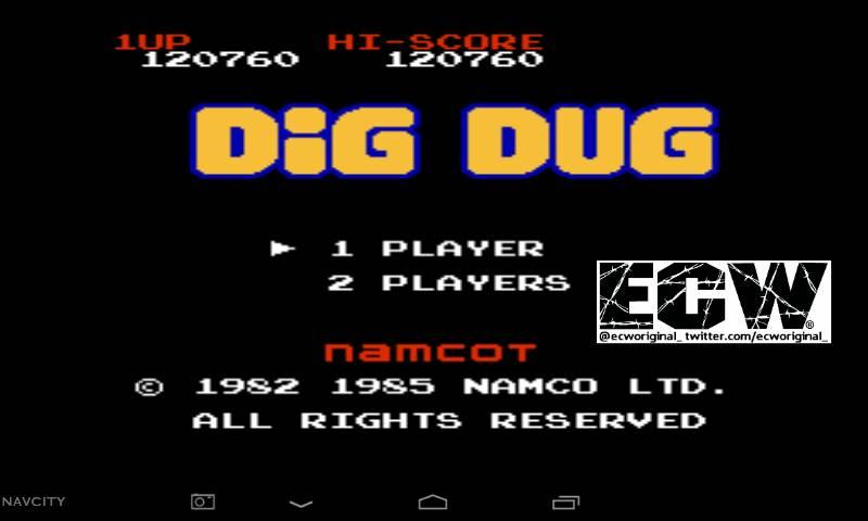 Dig Dug 120,760 points