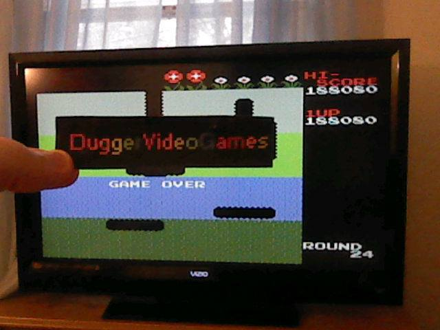 DuggerVideoGames: Dig Dug (NES/Famicom Emulated) 188,080 points on 2017-12-05 14:10:28