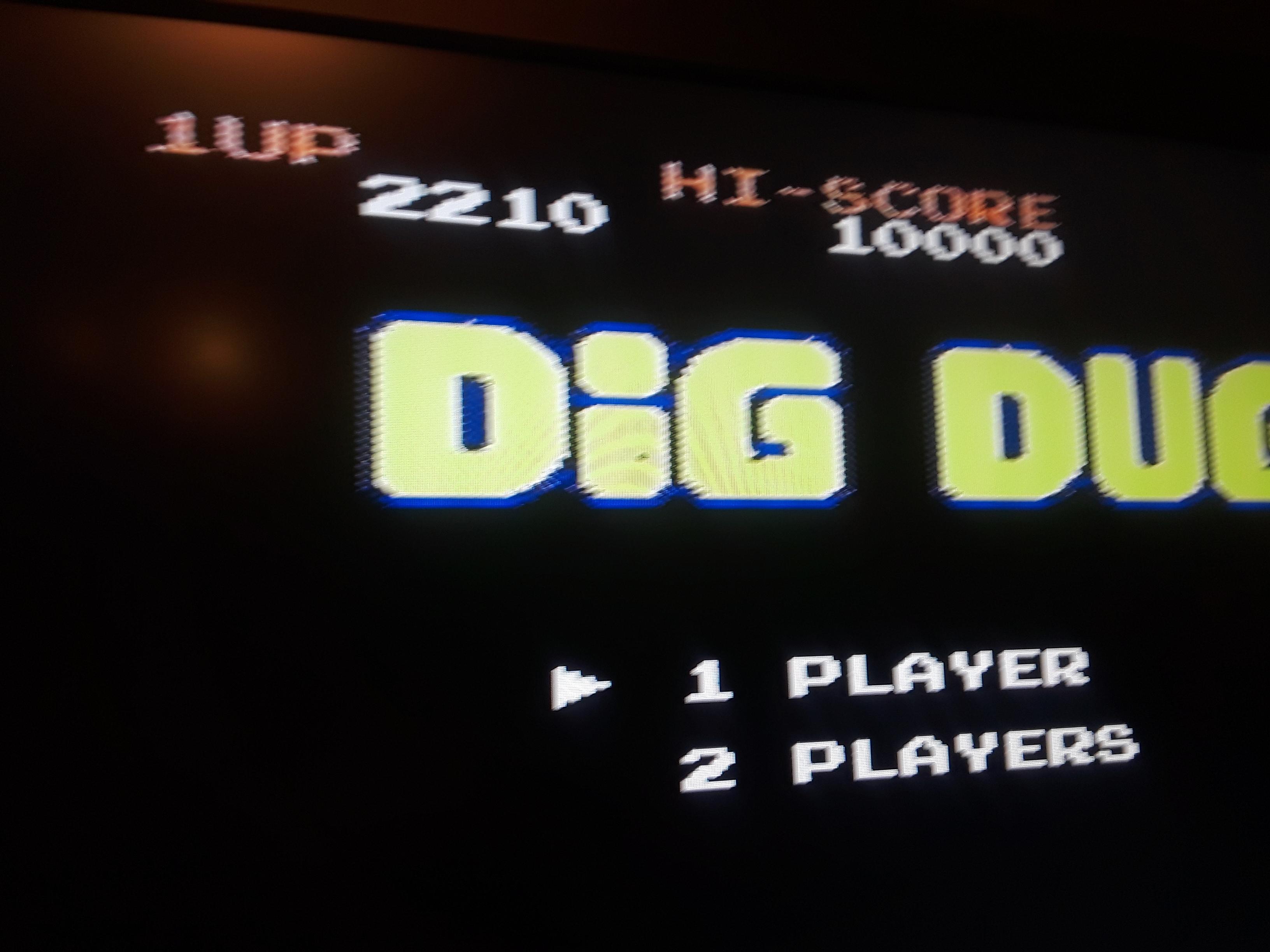 Dig Dug 2,210 points
