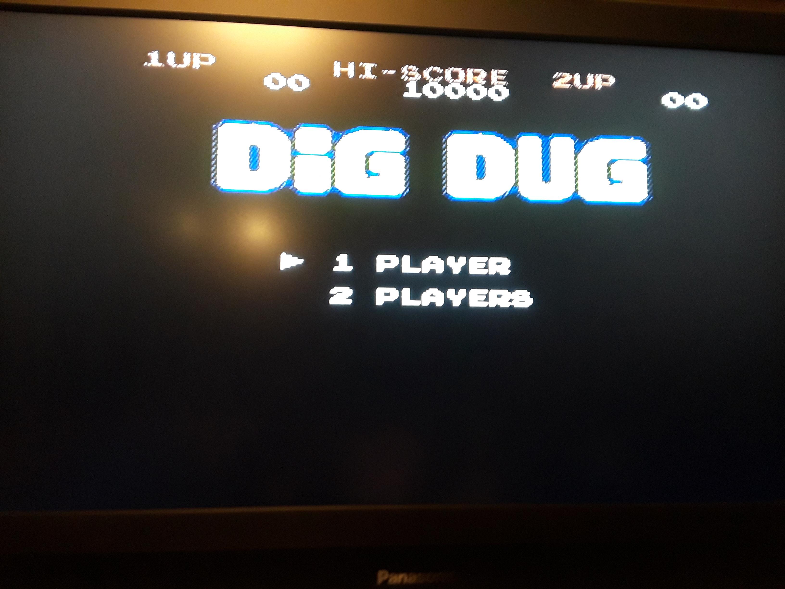 Dig Dug 4,520 points