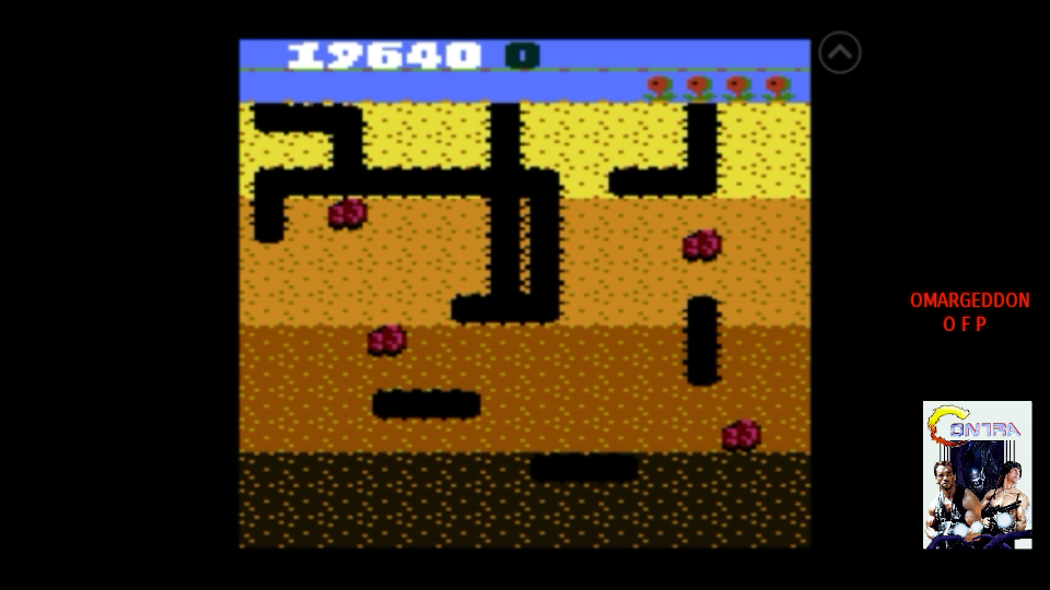 omargeddon: Dig Dug: Pineapple (Atari 7800 Emulated) 19,640 points on 2017-09-14 19:22:08